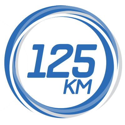 125km